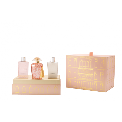 THE MERCHANT OF VENICE - Rosa Moceniga - Geschenkset Eau de Parfum + Shower Gel + Shampoo