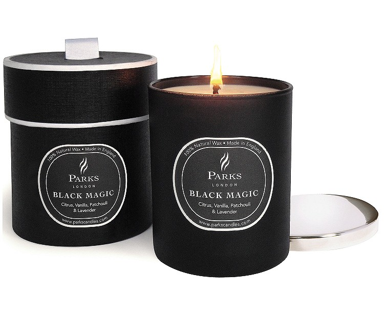 parks london black magic citrus vanilla patchouli lavender duftkerze. Black Bedroom Furniture Sets. Home Design Ideas