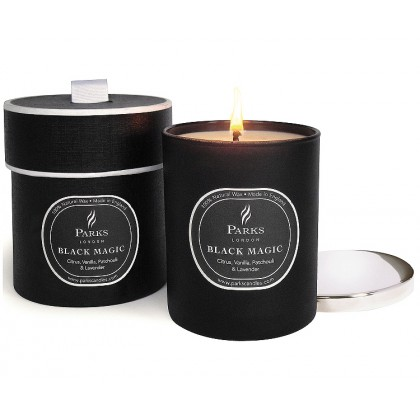Parks London - Black Magic Citrus, Vanilla, Patchouli & Lavender - Duftkerze