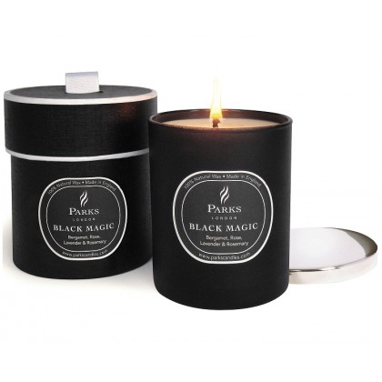 Parks London - Black Magic Bergamot, Rose Patch Lavender & Rosemary - Duftkerze