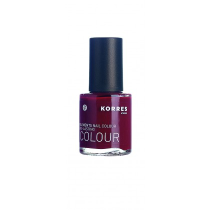 Korres - Nagellack Deep Red 57