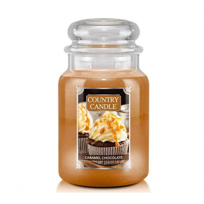 Country Candle - Caramel Chocolate - Dufkerze