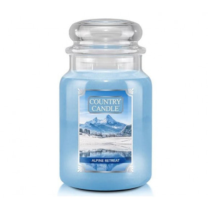Country Candle - Alpine Retreat - Dufkerze