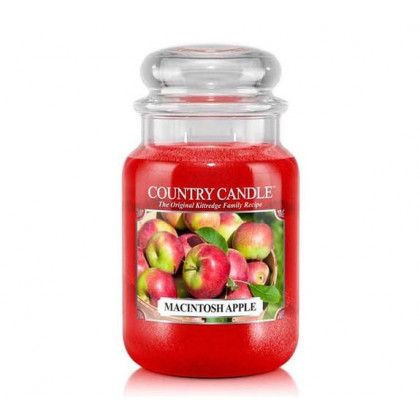 Country Candle - Macintosh Apple - Dufkerze