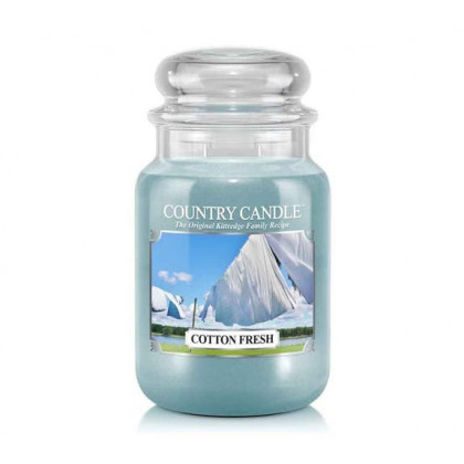 Country Candle - Cotton Fresh - Dufkerze