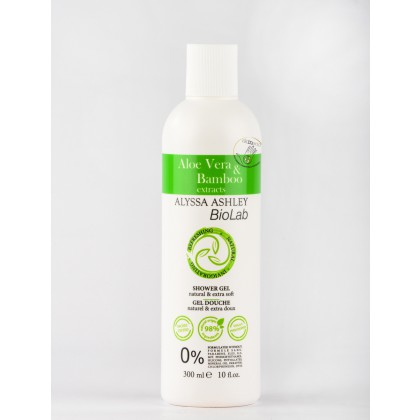 ALYSSA ASHLEY BioLab - Aloe Vera & Bamboo Shower Gel -  Duschgel