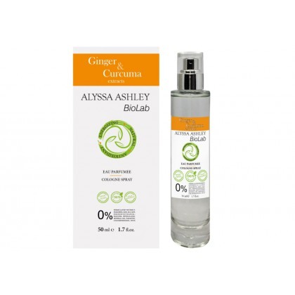 ALYSSA ASHLEY BioLab - Ginger & Curcuma - Eau Parfumee Cologne Spray