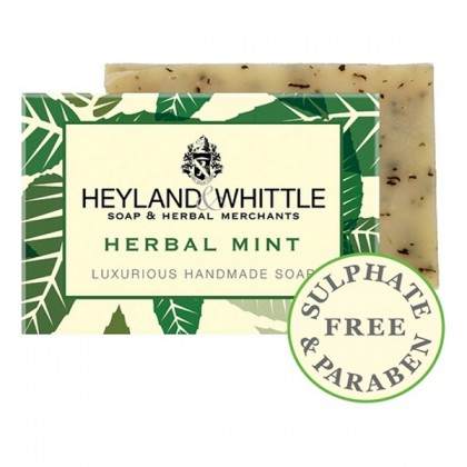 HEYLAND & WHITTLE - Herbal Mint - Seifenstück