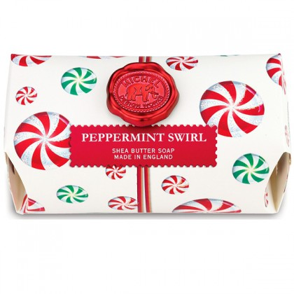 Michel Design Works - Peppermint Swirl - große Badeseife