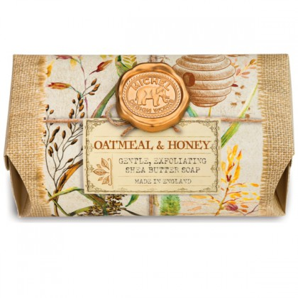 Michel Design Works - Oatmeal & Honey - große Badeseife