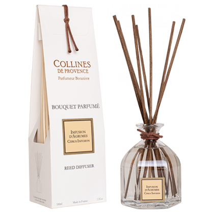 Collines de Provence - Infusion D´Agrumes - Citrus Infusion - Diffusor