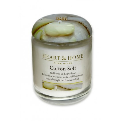 HEART & HOME - Cotton Soft - Duftkerze