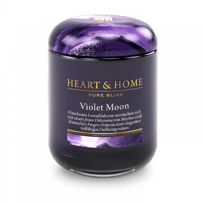 HEART & HOME - Violet Moon - Duftkerze