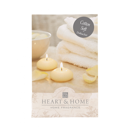 HEART & HOME - Cotton Soft - Duftsachet