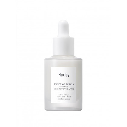 HUXLEY - Secret of Sahara - Brightly Ever After - aufhellendes und feuchtigkeitsspendendes Serum