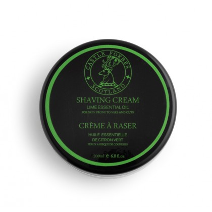 Castle Forbes - Lime Shaving Cream