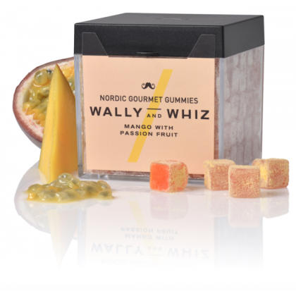 WALLY AND WHIZ - vegane Weingummis -  Mango with Passion Fruit