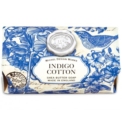 Michel Design Works - Indigo Cotton - große Badeseife