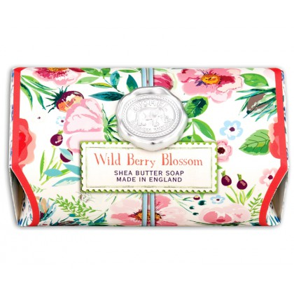 Michel Design Works -  Wild Berry Blossom - große Badeseife