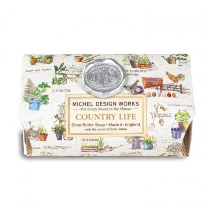 Michel Design Works - Country Life - große Badeseife