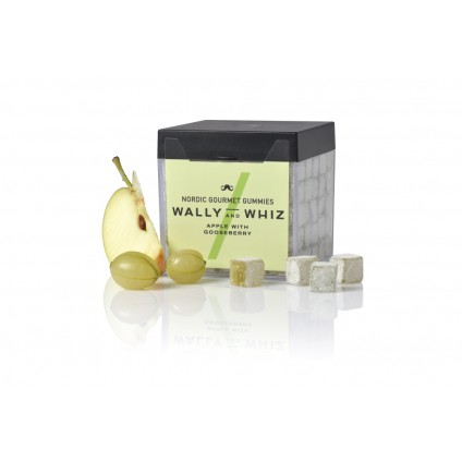 WALLY AND WHIZ - vegane Weingummis - Apfel mit Stachelbeere